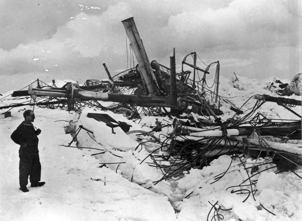 Shackleton Tweets Messages From Ernest Shackleton And