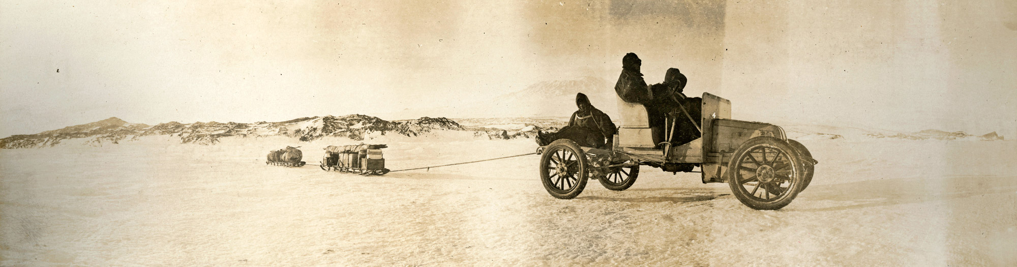 Arrol-Johnston, The First Motor Car in Antarctica with Ernest ...