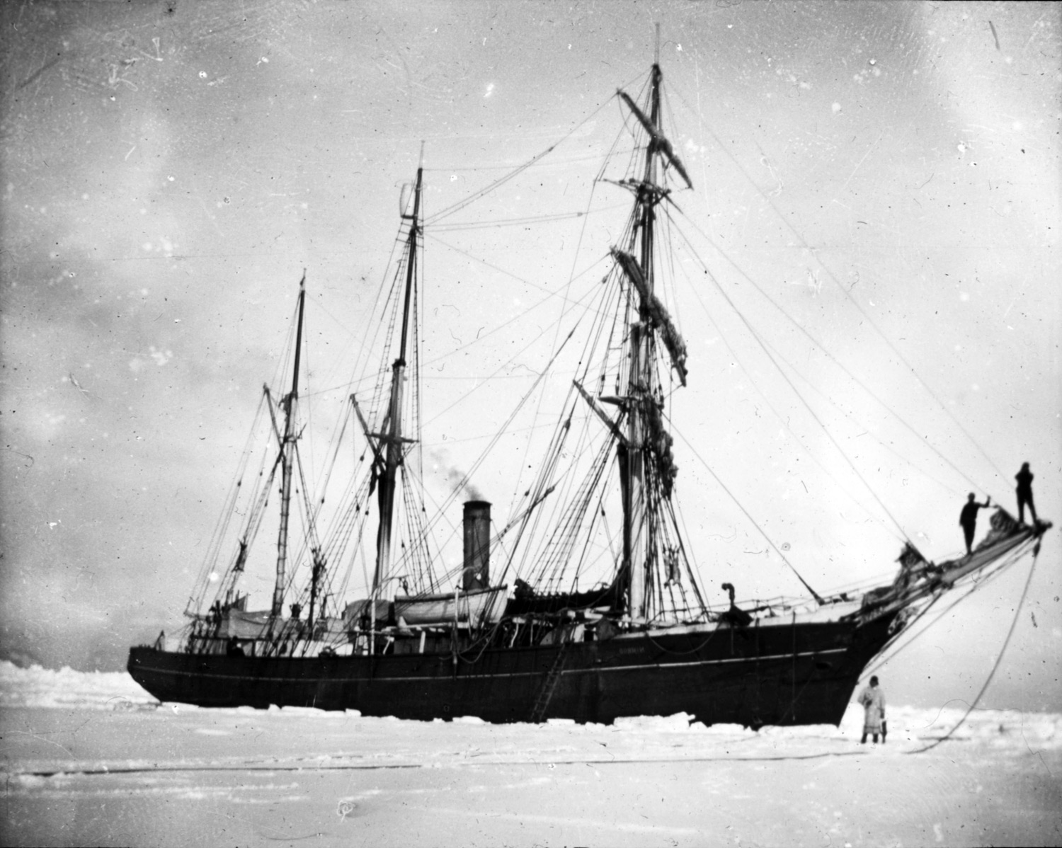 Ernest Shackleton And The Nimrod Expedition 1907 1909