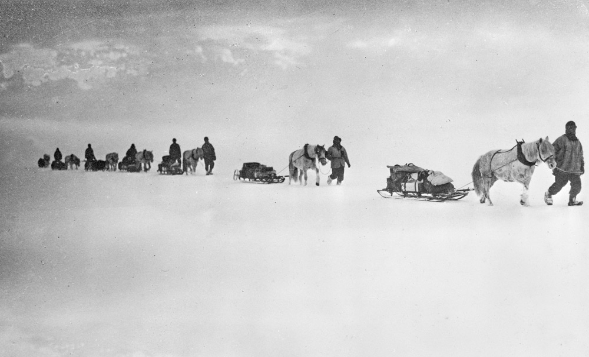 Robert Falcon Scott, South Pole, the Terra Nova expedition, 1910-1913