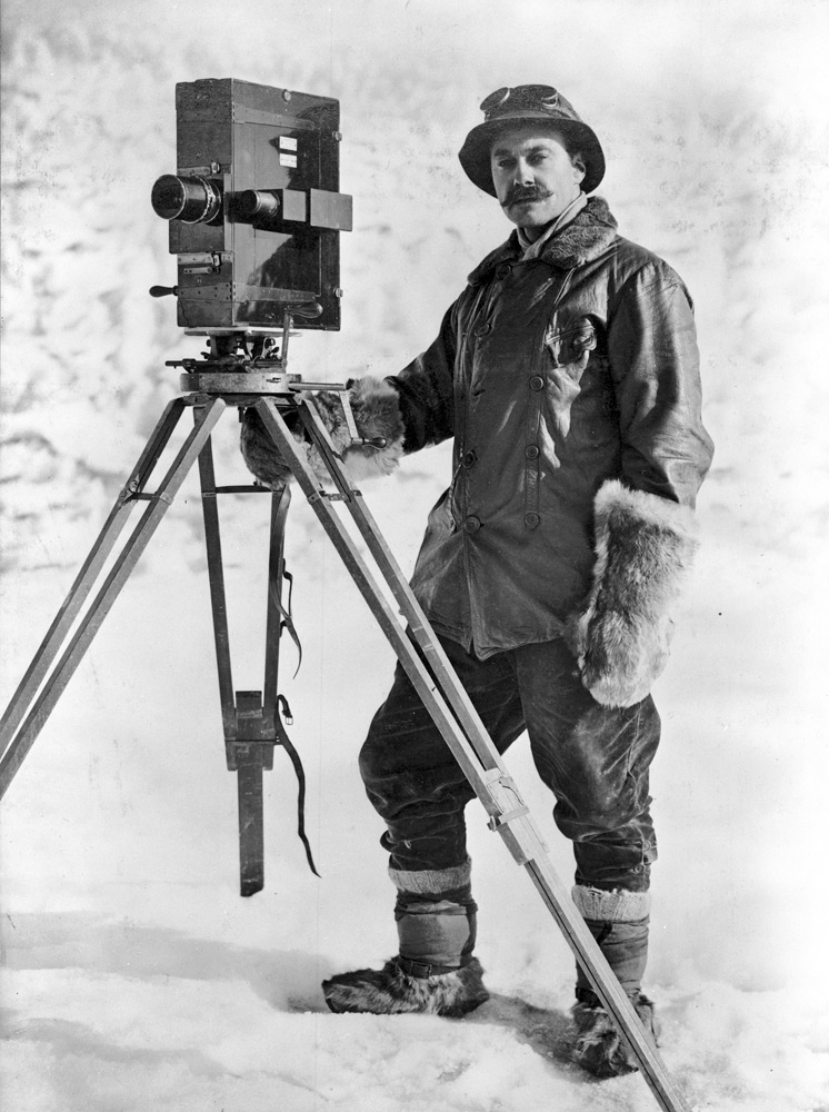 Robert Falcon Scott - the journey to the South Pole