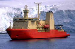 Nathaniel B. Palmer, US icebreaker, picture courtesy NSF
