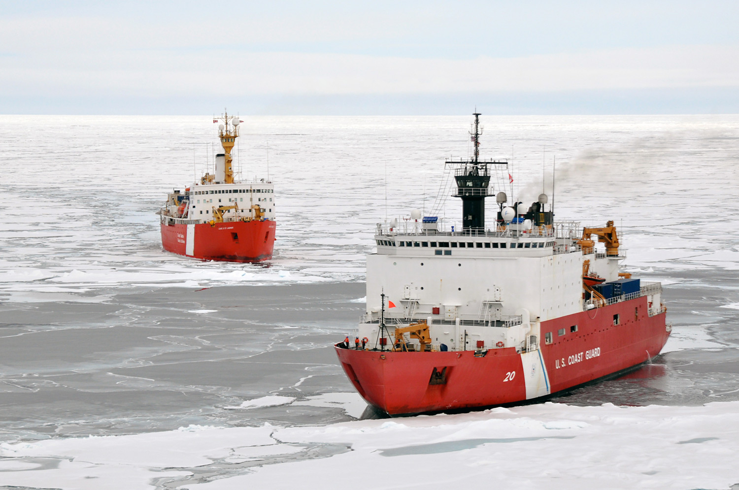 Ice Breakers And Strengthened Ships