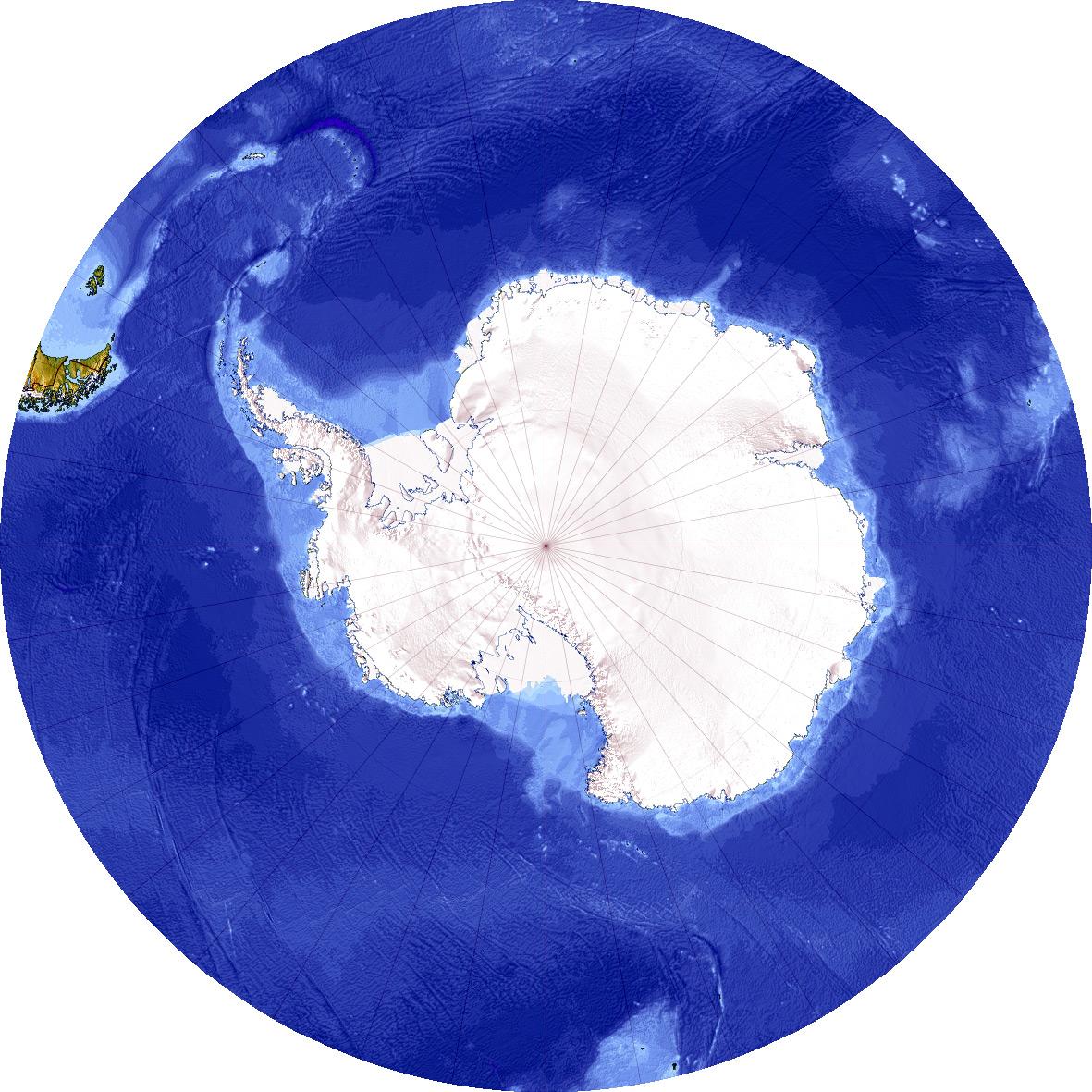the south pole antarctica