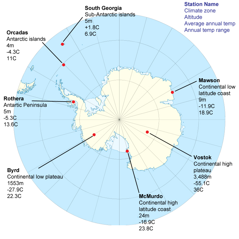 Antarctica climate and weather what is the climate like in antarctica gumiabroncs Images