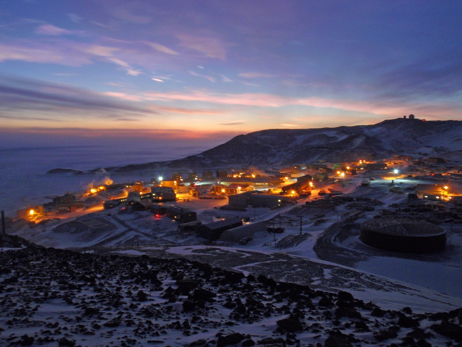 McMurdo Station seen from Observation Hill
