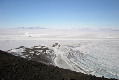 McMurdo Antarctica and  Hut Point
