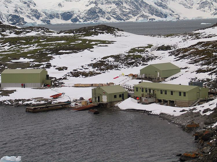 Antarctic Bases Scientific Research Stations - Antarctic research stations map
