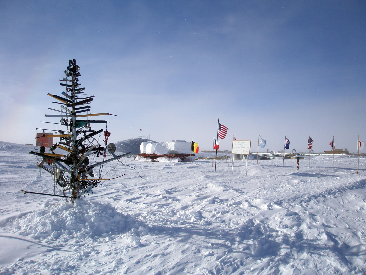 Where Is Christmas Not Celebrated.Christmas In Antarctica
