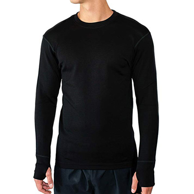 4204608c6 Men's - WoolX Glacier - Heavyweight Baselayer Crew Shirt For Extreme Warmth