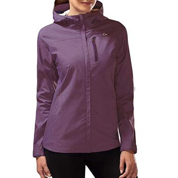 FraftO Womens Mens Hooded Jacket Waterproof Jackets Coat Two Piece Detachable Liner Breathable Sport Outdoor Outwear Black