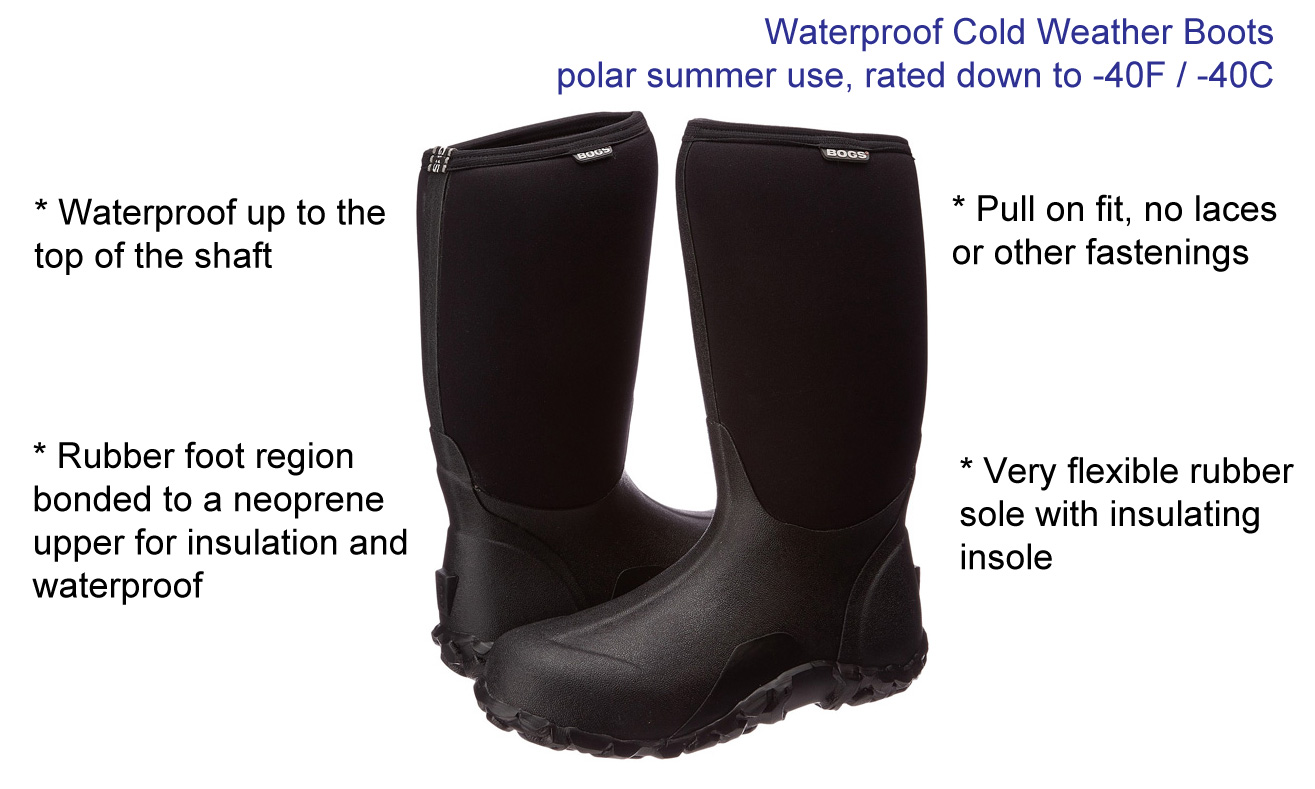 b3da271d6bb78 Cold Weather Boots - Keep your feet warm in extreme cold weather