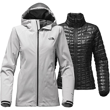 3 in 1 jackets - waterproof rain coats and an insulating layer combined 898b743fe