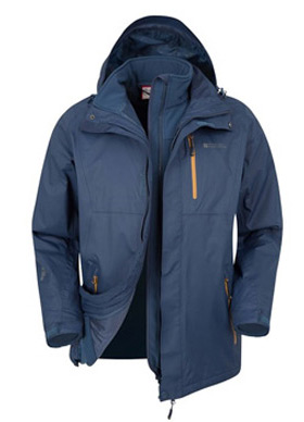 3af9e906b2 3 in 1 jackets - waterproof rain coats and an insulating layer combined