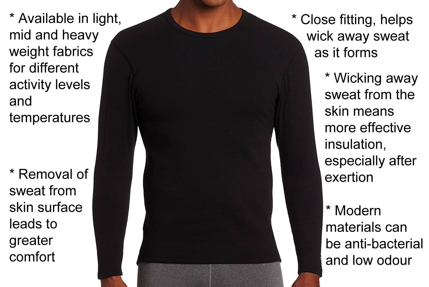 b2da3c43d Base Layers, Winter Underwear (Foundation), Thermals for cold weather