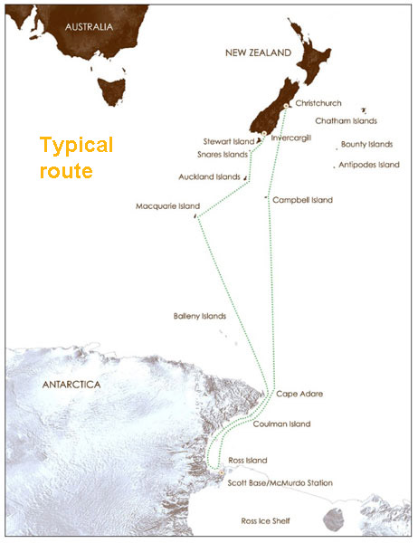 Antarctica Trips leaving from Australia and New Zealand