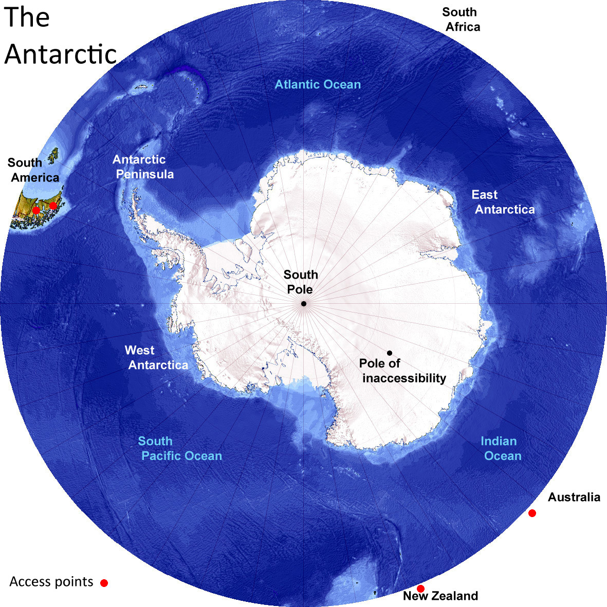 Antarctica and the Arctic compared, Differences and Similarities ...