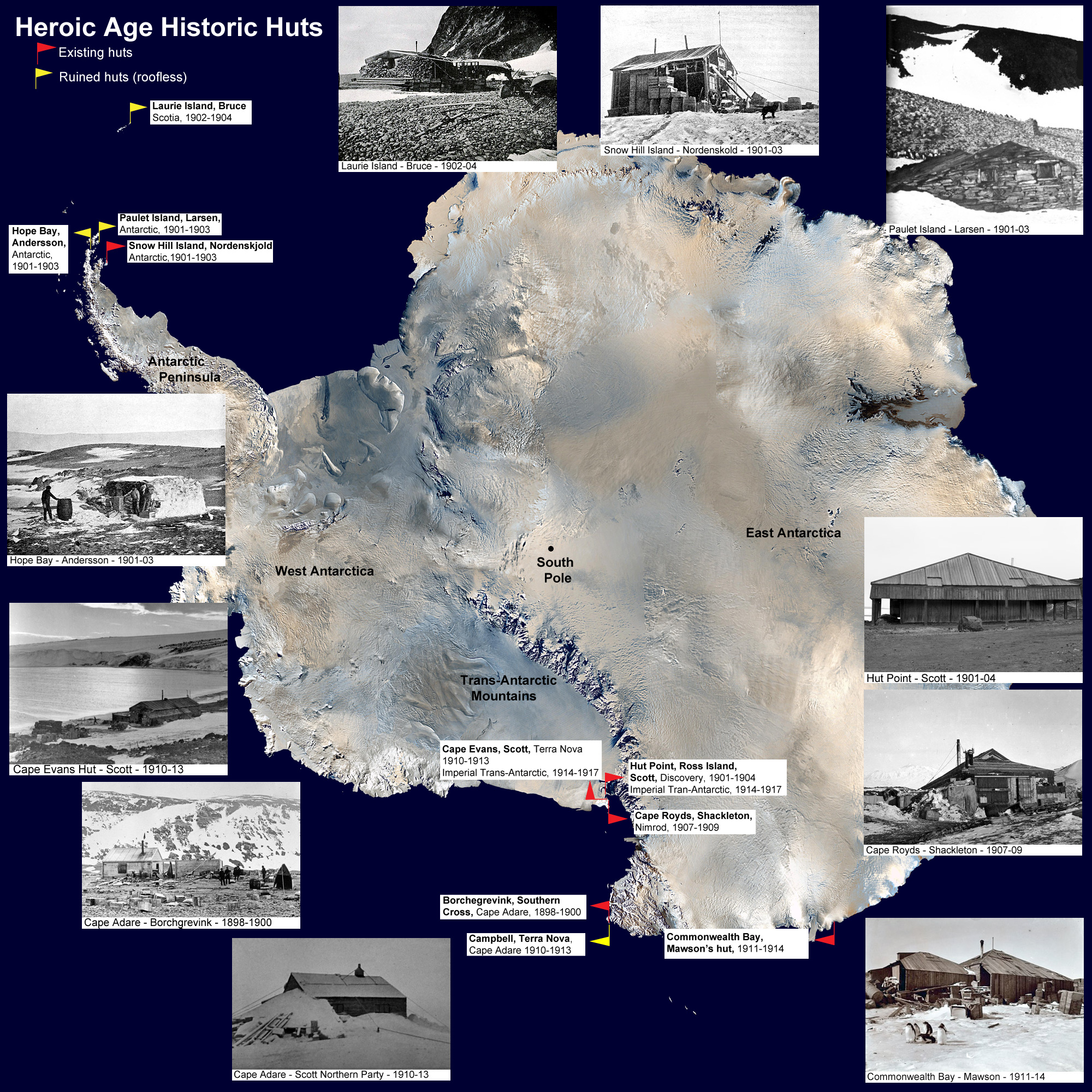 4da0d60c07 Antarctic Huts - Historical Reamins from the Heroic Age of Exploration
