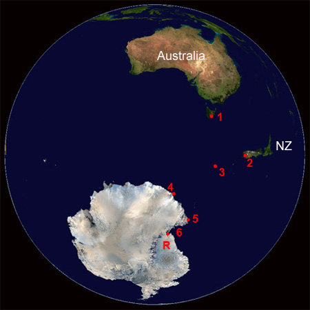how to go to antarctica from new zealand