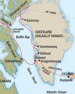 Best Cruises Around Baffin Island Canada