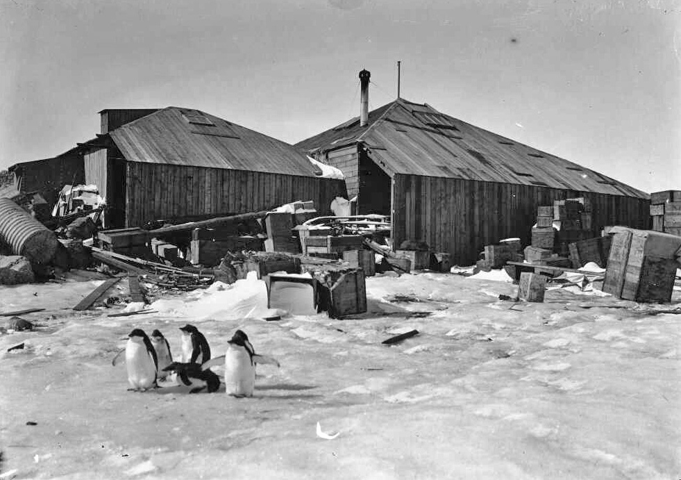 Antarctic Huts Historical Reamins From The Heroic Age Of