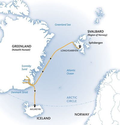 Svalbard Travel A Guide To Help Plan Your Visit To The Arctic - Svalbard map
