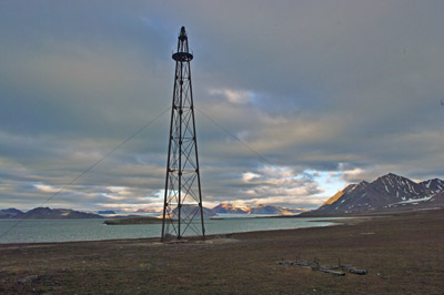 Ny Alesund, Svalbard - 12 -  Amundsen, Ellsworth, Nobile Airship Mooring Tower