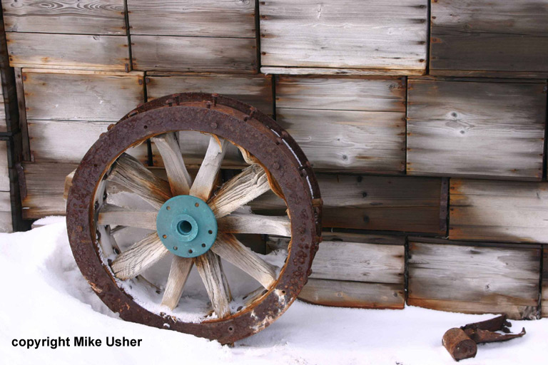 Arrol Johnston car wheel - Shackleton