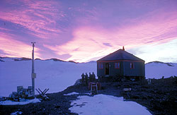 View point Hut at Dawn