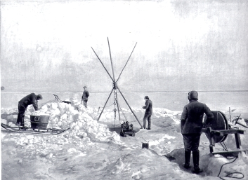 Scientific observations on the Belgica expedition