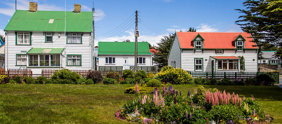 Houses, Port Stanley, Falkland Islands
