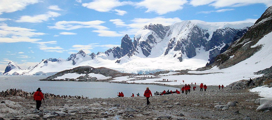 holiday in antarctica