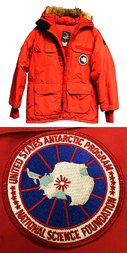 Big Red Antarctic Parka
