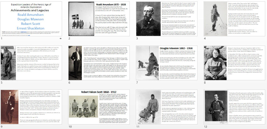 Ernest Shackleton and the Endurance Expedition Power Point